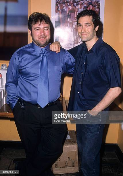 Director Adam Marcus and brother actor Kipp Marcus attend the Let It Snow Premiere Party on June 6 2001 at Jeollado in New York City