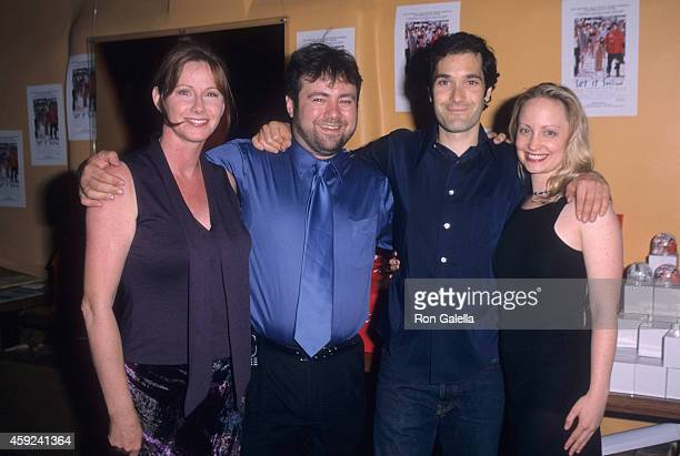 Director Adam Marcus and wife Debra Sullivan actor Kipp Marcus and actress Alice Dylan attend the Let It Snow Premiere Party on June 6 2001 at...