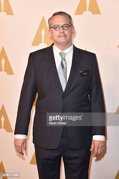 Director Adam McKay attends the 88th Annual Academy Awards nominee luncheon on February 8 2016 in Beverly Hills California