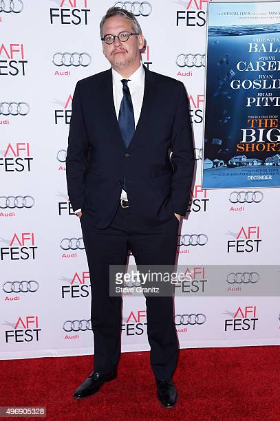 Director Adam McKay attends the closing night gala premiere of Paramount Pictures' 'The Big Short' during AFI FEST 2015 at TCL Chinese Theatre on...