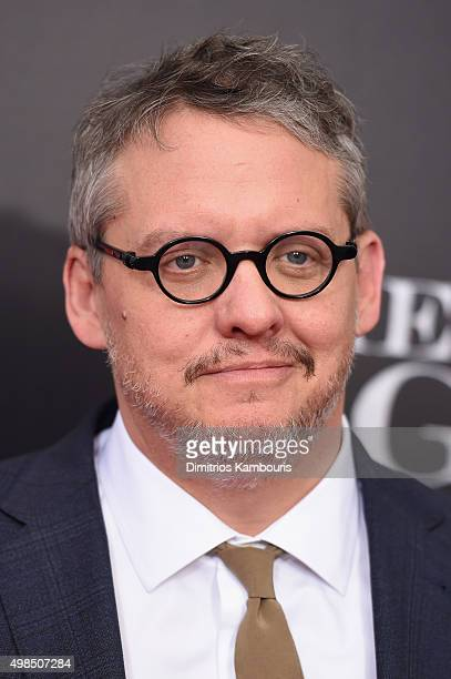 Director Adam McKay attends the premiere of 'The Big Short' at Ziegfeld Theatre on November 23 2015 in New York City