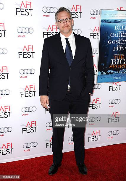 Director Adam McKay attends the premire of 'The Big Short' at the 2015 AFI Fest at TCL Chinese 6 Theatres on November 12 2015 in Hollywood California