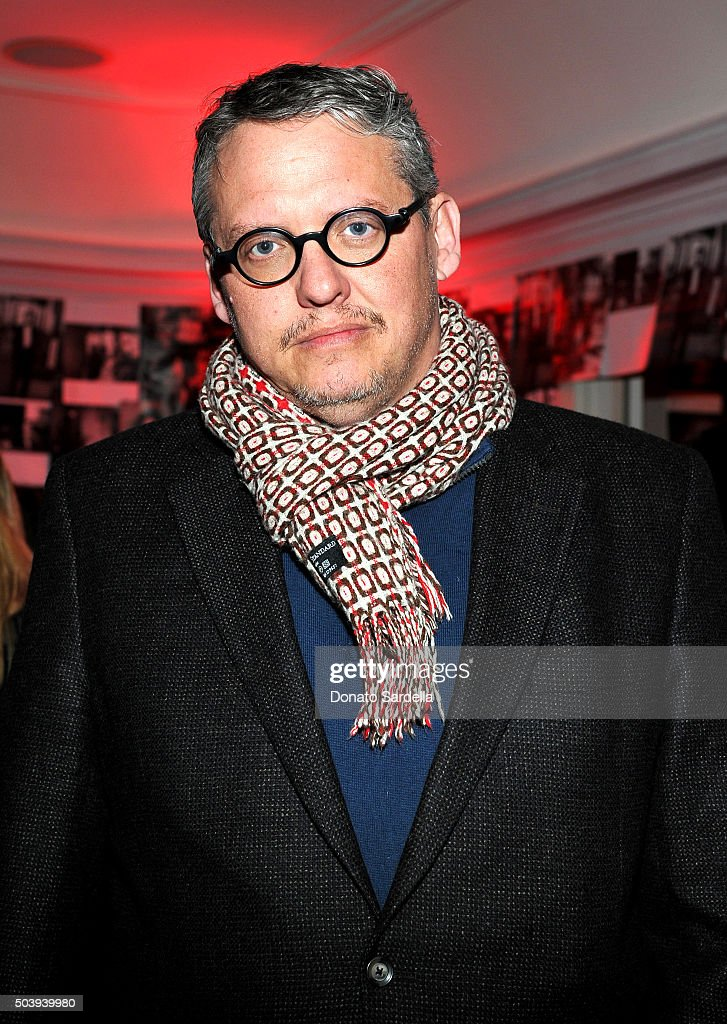 Director Adam McKay attends the W Magazine celebration of the 'Best Performances' Portfolio and The Golden Globes with Audi and Dom Perignon at Chateau Marmont on January 7, 2016 in Los Angeles, California.