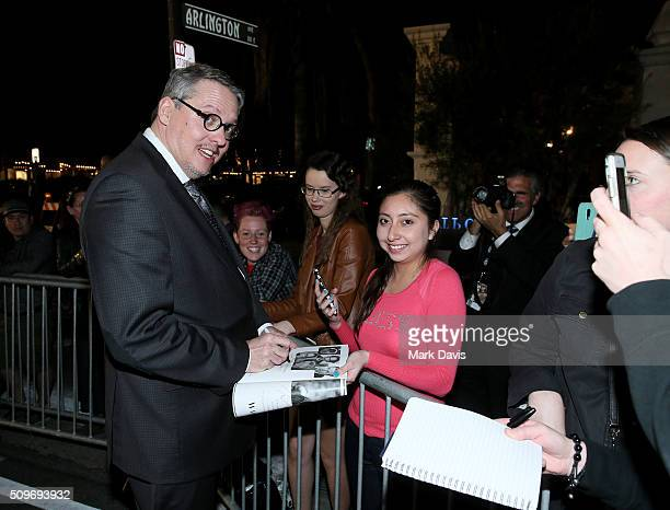 Director Adam McKay signs autographs at the Outstanding Directors Awards at the Arlington Theater during the 31st Santa Barbara International Film...