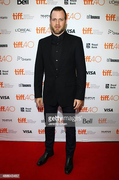 Director Adam Salky attends the I Smile Back premiere during the 2015 Toronto International Film Festival at Princess of Wales Theatre on September...
