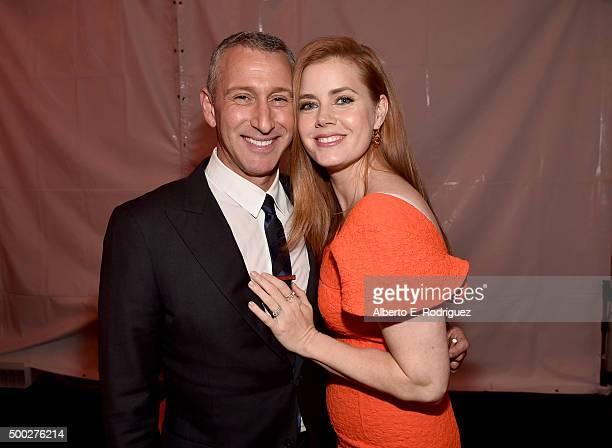 Director Adam Shankman and actress Amy Adams attend TrevorLIVE LA 2015 at Hollywood Palladium on December 6 2015 in Los Angeles California