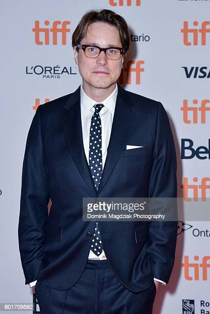 Director Adam Smith attends the 'Trespass Against Us' premiere during the 2016 Toronto International Film Festival at Princess of Wales Theatre on...