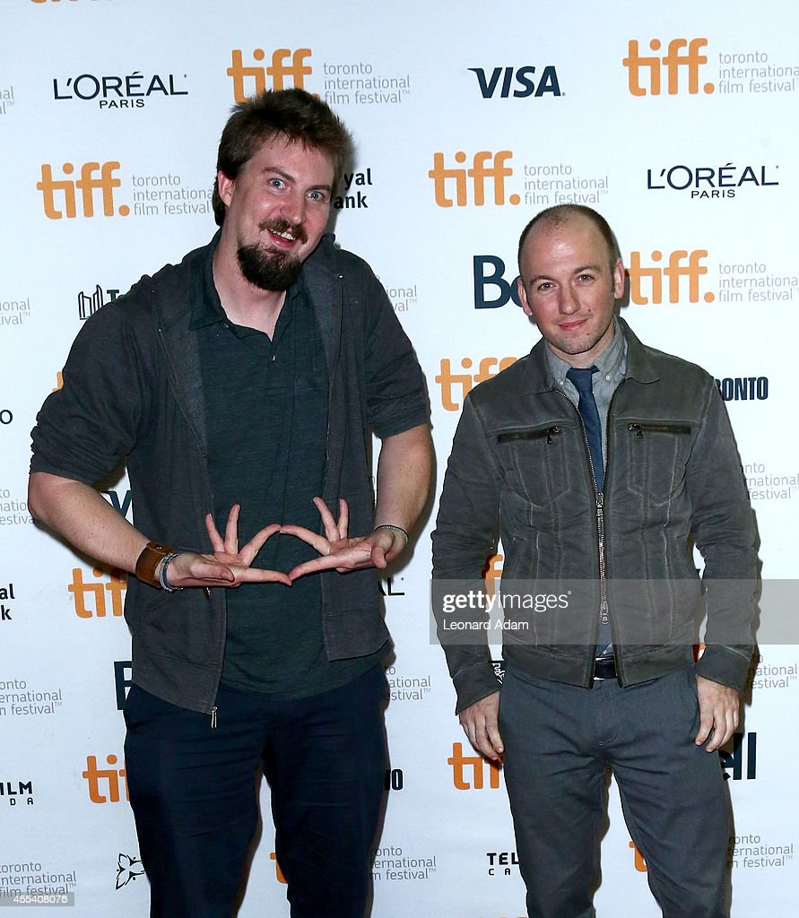 Director Adam Wingard and writer Simon Barrett attend