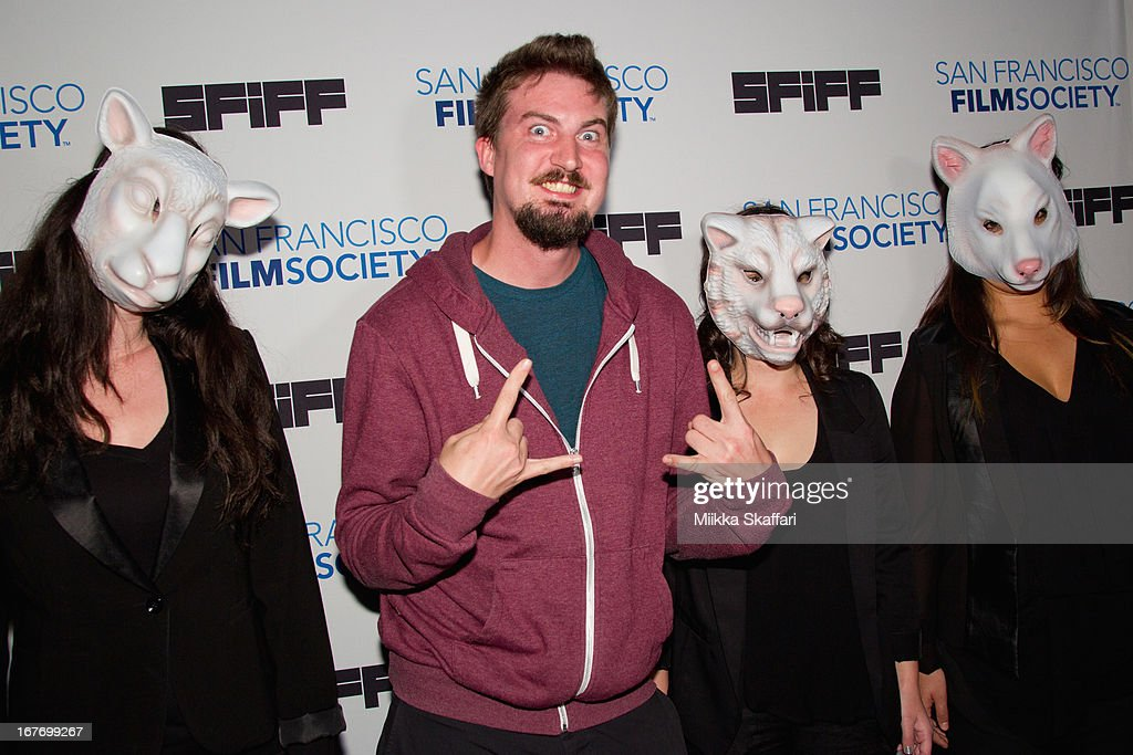 Director Adam Wingard arrives at 'You're Next' premiere at Sundance Kabuki Cinemas on April 27, 2013 in San Francisco, California.