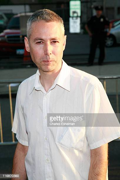"""Director Adam Yauch arrives at the premiere of """"Gunnin' for That Spot"""" at the Magic Johnson Theatre on June 25, 2008 in New York City."""