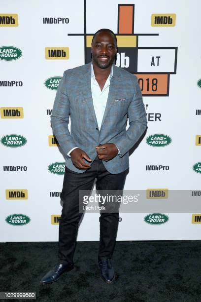 Director Adewale AkinnuoyeAgbaje of Farming attends The IMDb Studio presented By Land Rover At The 2018 Toronto International Film Festival at Bisha...