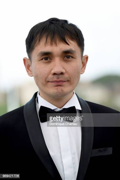 Director Adilkhan Yerzhanov attends 'The Gentle Indifference Of The Word' Photocall during the 71st annual Cannes Film Festival at Palais des...