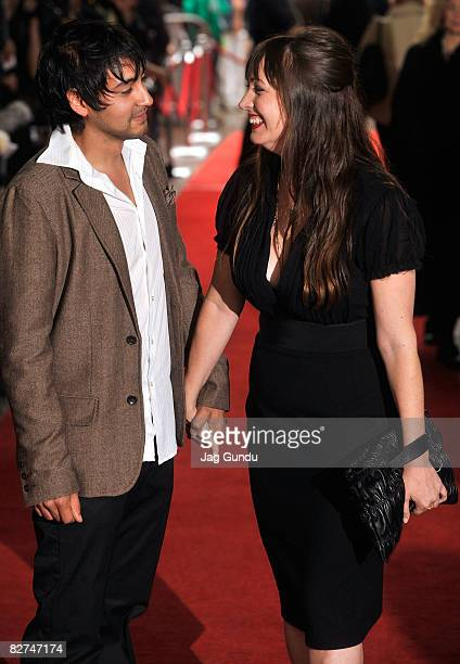 Director Adria Petty and editor John Gutierrez arrives at the Paris Not France premiere during the 2008 Toronto International Film Festival held at...