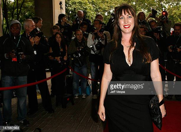 Director Adria Petty arrives at the 'Paris Not France' film premiere held at Reyerson Theatre during the 2008 Toronto International Film Festival on...