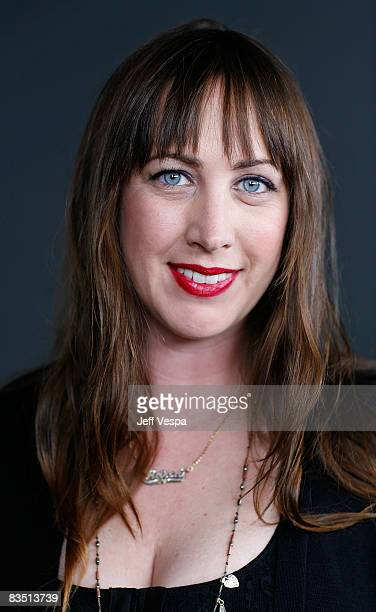 Director Adria Petty poses for a portrait during the 2008 Toronto International Film Festival held at the Sutton Place Hotel on September 8 2008 in...