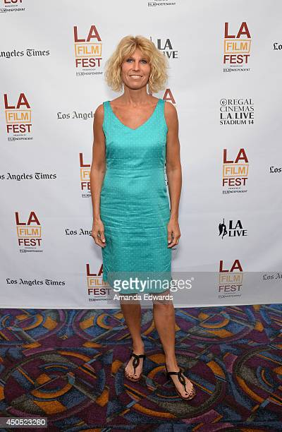 Director Agnes Sos attends the 'Stream of Love' premiere during the 2014 Los Angeles Film Festival at Regal Cinemas LA Live on June 12 2014 in Los...