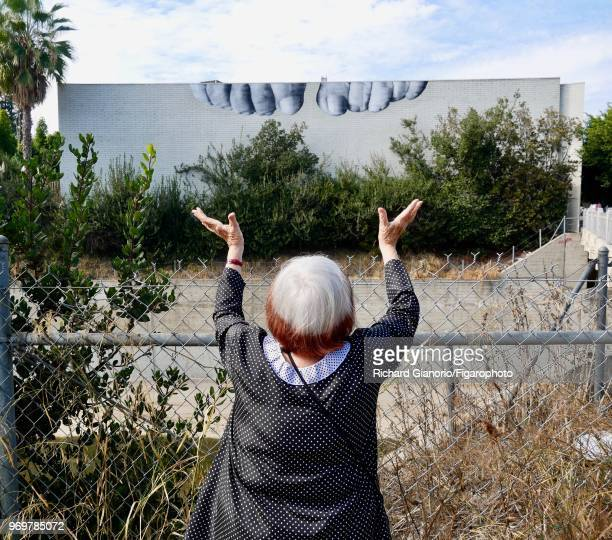 Director Agnes Varda is photographed for Madame Figaro on November 9 2017 in Los Angeles California CREDIT MUST READ Richard...