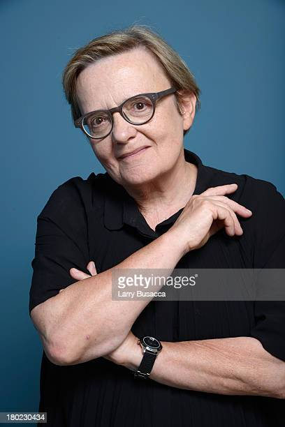 Director Agnieszka Holland of 'Burning Bush' poses at the Guess Portrait Studio during 2013 Toronto International Film Festival on September 8 2013...