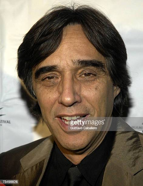 Director Agustin Diaz Yanes poses on the red carpet before the screening of Alatriste at the Gusman Theater during the Miami International Film...