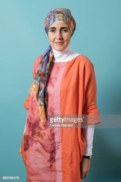 Director Aida Begic poses during a portrait session at the 14th annual Dubai International Film Festival held at the Madinat Jumeriah Complex on...
