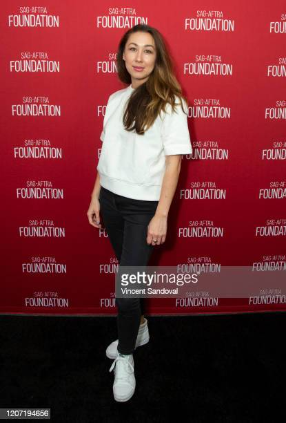 Director Aisling ChinYee attends SAGAFTRA Foundation Conversations presents The Rest Of Us at SAGAFTRA Foundation Screening Room on February 18 2020...