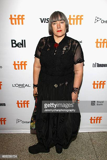 Director Aisling Walsh attends the 'Maudie' premiere held at The Elgin Theatre during the Toronto International Film Festival on September 12 2016 in...
