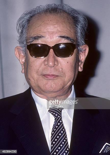 Director Akira Kurosawa attends the DGA's Golden Juliee Special Award for Directorial Achievement Salute to Akira Kurosawa Federico Fellini Oscar...