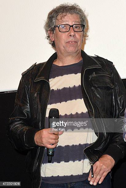 Director Alain Margot attends the 'Je Suis Femen' : Screening at Luminor Cinema on May 4, 2015 in Paris, France.