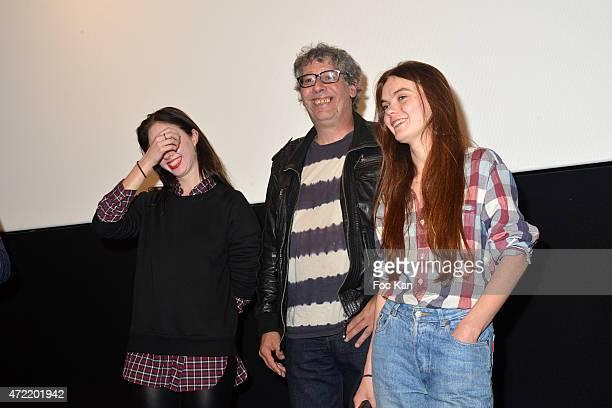 Director Alain Margot Ukrainian Femen Founders Sasha Shevchenko and painter Oxana Shachko attend the 'Je Suis Femen' : Alain Margot's movie Screening...