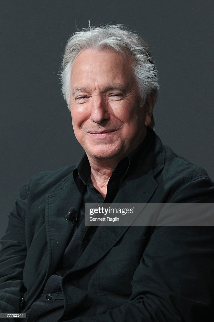 Director Alan Rickman attends Apple Store Soho: Meet the Filmmaker at Apple Store Soho on June 19, 2015 in New York City.