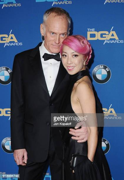Director Alan Taylor and guest attend the 70th Annual Directors Guild Of America Awards at The Beverly Hilton Hotel on February 3 2018 in Beverly...