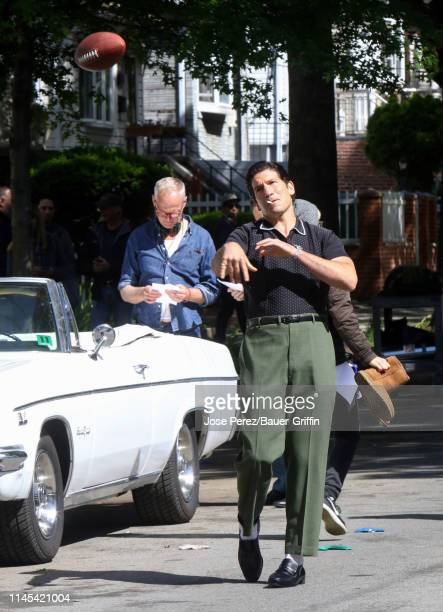Director Alan Taylor and Jon Bernthal are seen on May 21 2019 in New York City