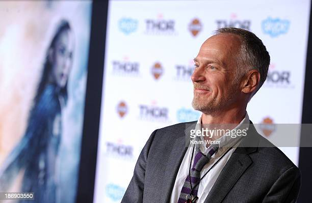 Director Alan Taylor arrives at the premiere of Marvel's Thor The Dark World at the El Capitan Theatre on November 4 2013 in Hollywood California