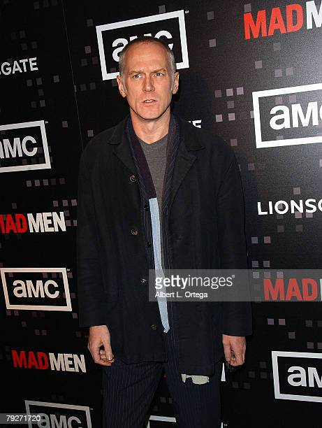 Director Alan Taylor arrives for AMC's Mad Men Celebration for SAG WGA and DGA Nominations at The Chateau Marmont on January 25 2008 in West...
