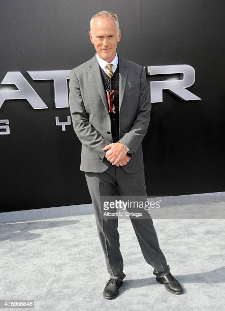 Director Alan Taylor arrives for the Premiere Of Paramount Pictures' Terminator Genisys held at Dolby Theatre on June 28 2015 in Hollywood California