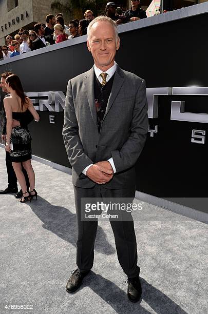 Director Alan Taylor attends the premiere of Paramount Pictures' Terminator Genisys at Dolby Theatre on June 28 2015 in Hollywood California