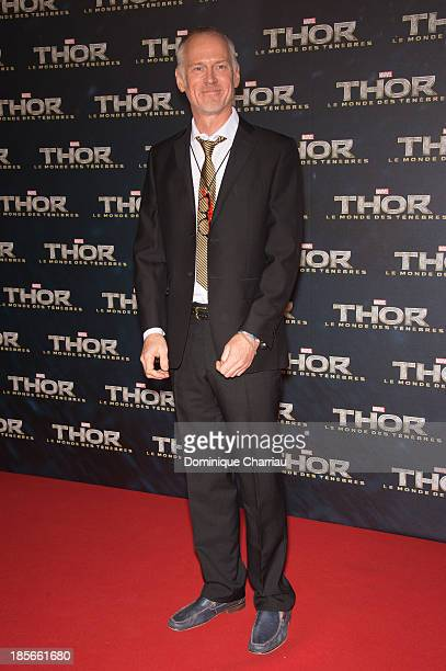 Director Alan Taylor attends the 'Thor The Dark World' Paris Premiere at Le Grand Rex on October 23 2013 in Paris France