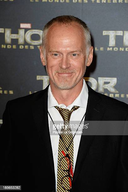Director Alan Taylor attends 'Thor The Dark World' Premiere at Le Grand Rex on October 23 2013 in Paris France