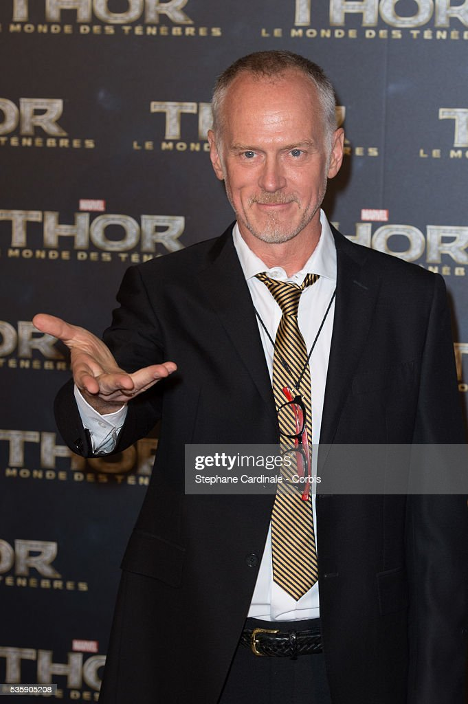 Director Alan Taylor attends 'Thor: The Dark World' Premiere at Le Grand Rex Cinema, in Paris.