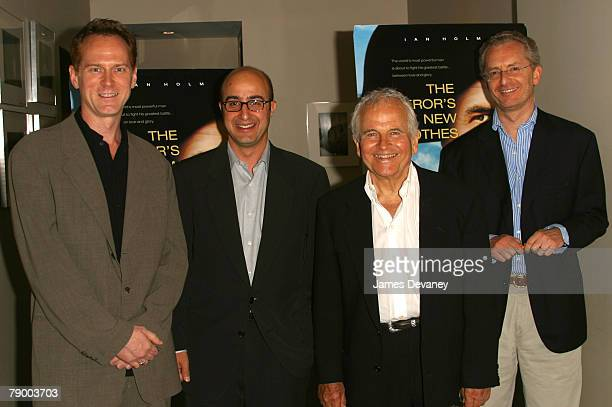 Director Alan Taylor David Dinerstein CoPresident of Paramount Classics Sir Ian Holm and producer Uberto Pasolini