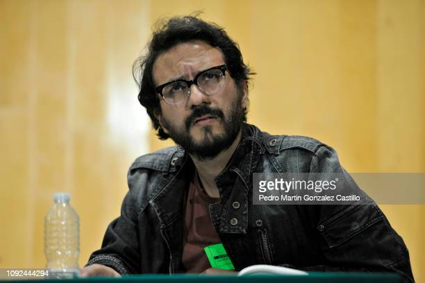 Director Alberto Arnaut attends the screening of the documentary 'Hasta los Dientes' or 'Armed to the Teeth' at Camara de Diputados January 10 2019...