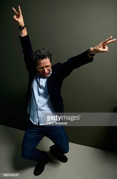 Director Alberto Arvelo of 'Libertador' poses at the Guess Portrait Studio during 2013 Toronto International Film Festival on September 10 2013 in...