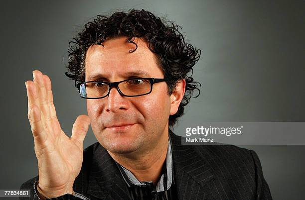 Director Alberto Arvelo of the film 'Cyrano Fernandez' poses in the portrait studio during AFI FEST 2007 presented by Audi held at ArcLight Cinemas...