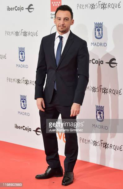 Director Alejandro Amenabar attends the red carpet during 'Jose Maria Forque Awards' 2020 at Ifema on January 11, 2020 in Madrid, Spain.