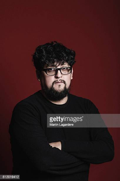 Director Alejandro Fernandez Almendras is photographed for Self Assignment on February 18 2016 in Berlin Germany