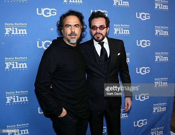 Director Alejandro G Inarritu and SBIFF Director Roger Durling attend the Outstanding Directors Awards at the Arlington Theater during the 31st Santa...