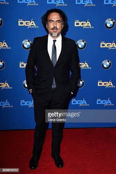 Director Alejandro G Iñárritu attends the 68th Annual Directors Guild Of America Awards at the Hyatt Regency Century Plaza on February 6 2016 in Los...
