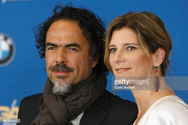 Director Alejandro Gonzalez Inarritu and Maria Eladia Hagerman attend the 67th Annual Directors Guild Of America Awards at the Hyatt Regency Century...