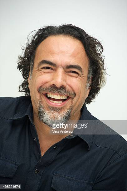 Director Alejandro Gonzalez Inarritu at 'The Revenant' Press Conference at The Four Seasons Hotel on November 23 2015 in Beverly Hills California