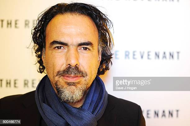 Director Alejandro Gonzalez Inarritu attends a BAFTA Q&A of 'The Revenant' at Vue Leicester Square on December 6, 2015 in London, England.